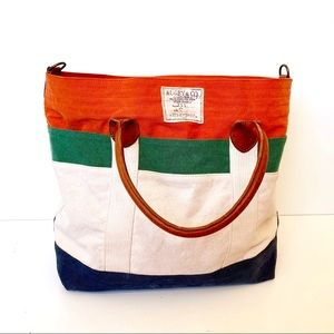 Ralph Lauren Rugby and Co Canvas Travel Bag